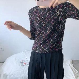 Zara Tweed Fringe Tops